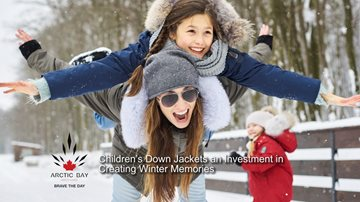 Children's Down Jackets Keep Kids Warm and Active in Canadian Winter childrensdownjackets