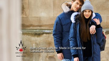 Men's Down Jackets Canada's Winters Tamed with Down Fill Power mensdownjacketscanada