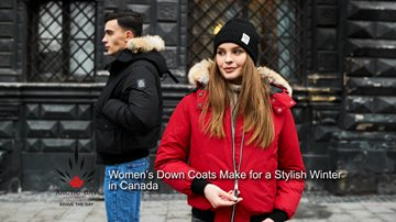 Winter Restyled with Women's Down Coats in Canada womensdowncoatscanada